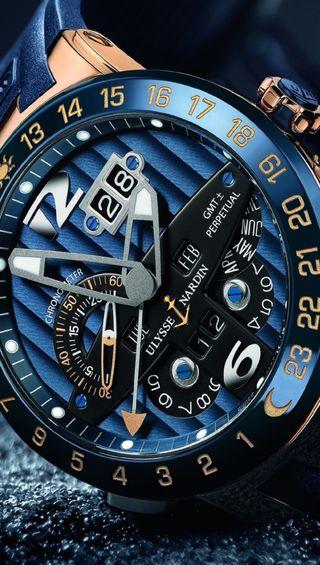 Обои на телефон часы, синие, рука, прекрасные, крутые, ulysses, nardin