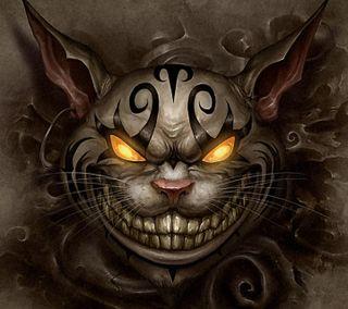 Обои на телефон дьявол, кошки, будущее