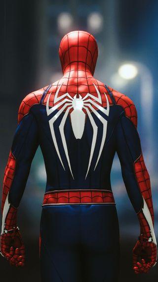 Обои на телефон паук, мультфильмы, люди, игра, видео, splendor, spider man, man