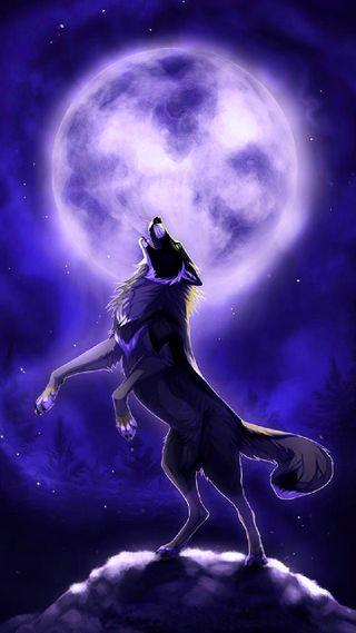 Обои на телефон мистика, дух, волк, mystic wolf