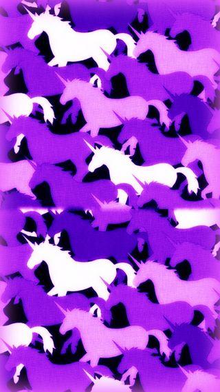 Обои на телефон лошади, шаблон, фиолетовые, фантазия, магия, крутые, камуфляж, животные, единорог, абстрактные, unicorns pattern 4, myth