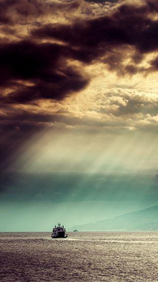 Обои на телефон небеса, свет