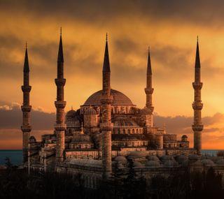 Обои на телефон изображения, турецкие, стамбул, мечеть