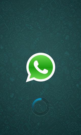 Обои на телефон загрузка, бренды, z10, whatsapp loading, whatsapp