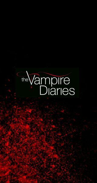 Обои на телефон вампиры, кровь, the vampire diaries, splatter, palmtree443