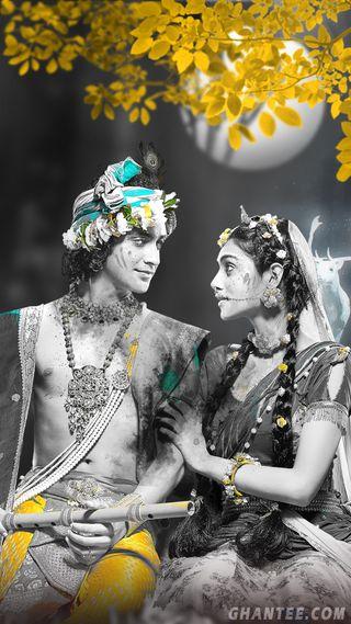 Обои на телефон радха, кришна, бог, kanhaiya, kanha