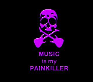 Обои на телефон киллер, череп, музыка, крест, гитара, боль, purpl, painkiller