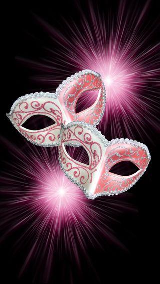 Обои на телефон фейерверк, masquerade, masks, mardi gras