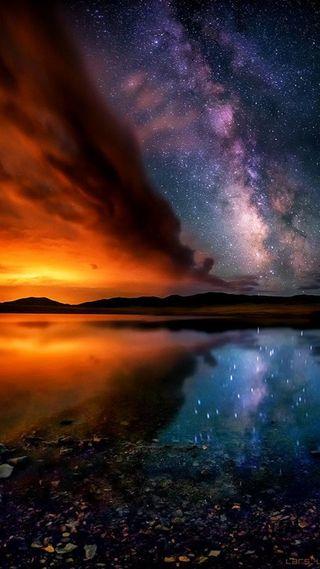 Обои на телефон красота, космос, земля, жизнь