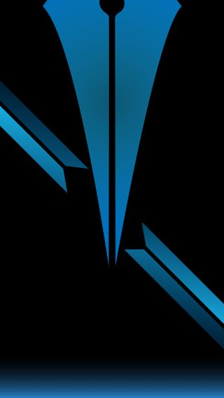 Обои на телефон элегантные, треугольник, черные, темные, синие, градиент, выемка, абстрактные, hd, a50