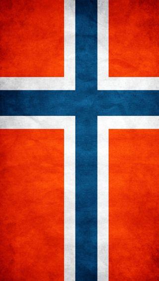 Обои на телефон флаги, флаг, норвегия