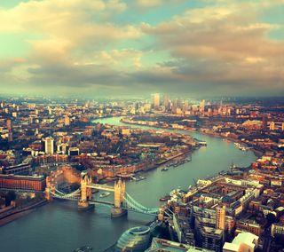 Обои на телефон река, природа, лондон, город, англия