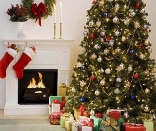 Обои на телефон дерево, cristmas, big