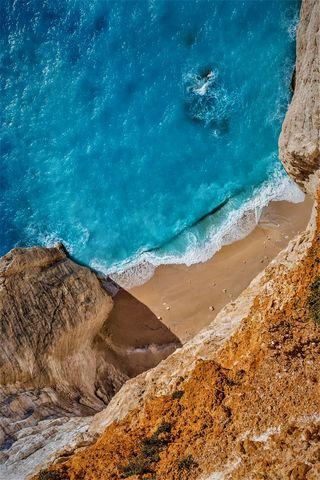 Обои на телефон сяоми, пляж, пейзаж, океан, xiaomi