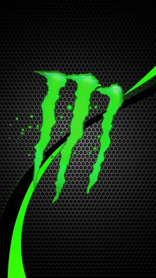 Обои на телефон логотипы, monster, monsiter