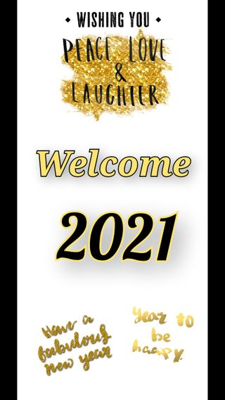 Обои на телефон праздновать, праздник, новый, золотые, welcome 2021