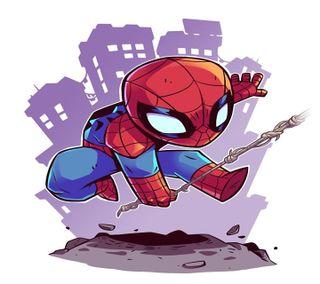 Обои на телефон паук, spider man, man