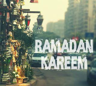 Обои на телефон рамадан, исламские, текст, красочные