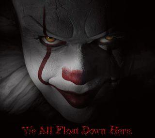 Обои на телефон клоун, страшные, пеннивайз, оно, мы, король, we float pennywise, scary king, float