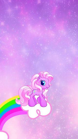 Обои на телефон пони, фиолетовые, синие, радуга, мой, милые, маленький, лошадь, единорог, девчачие