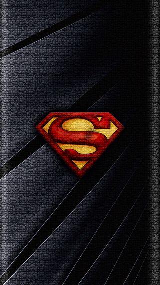 Обои на телефон кожа, супермен