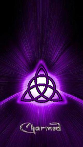 Обои на телефон языческий, ведьма, фиолетовые, духовные, triquetra