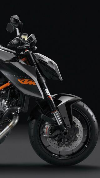 Обои на телефон черные, спорт, мотоциклы, ктм, гоночные, байк, superduke, duke