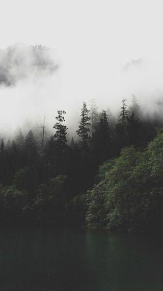 Обои на телефон горы, smoky mountain, mgm, 2017