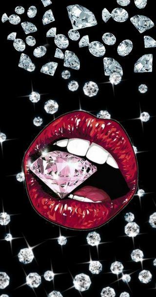 Обои на телефон рот, губы, роскошные, девчачие, девушки, бриллиант, luxury, luxurious