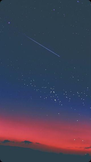 Обои на телефон самсунг, ночь, красые, звезды, закат, галактика, абстрактные, samsung, galaxy s8, galaxy