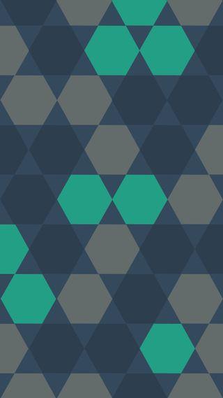 Обои на телефон многоугольник, синие, сетка, ретро, плоские, геометрия, геометрические, абстрактные, retro geometry, hd