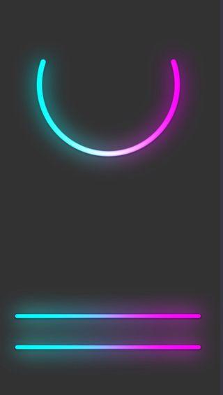 Обои на телефон экран, неоновые, дом, neon home screen