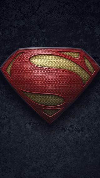 Обои на телефон стальные, супермен