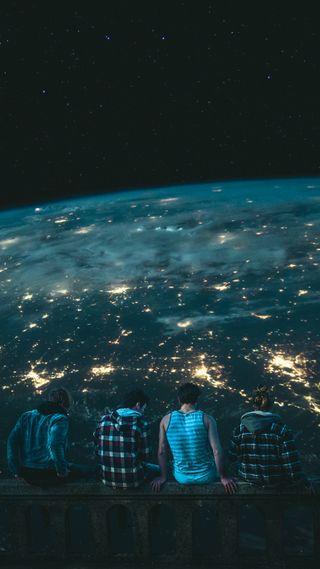 Обои на телефон солнечный, топ, система, синие, мир, мальчики, любовь, лучшие, земля, друг, вселенная, love, besties
