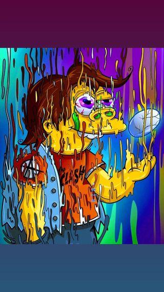 Обои на телефон рисунок, аниме, nelson, dibujo animado