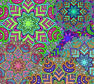 Обои на телефон цветочные, шаблон, красочные, векторные, абстрактные