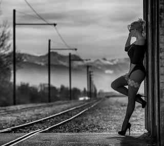 Обои на телефон полосы, поезда, любовь, love