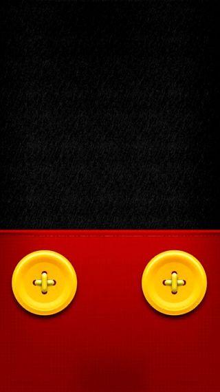 Обои на телефон лол, черные, милые, микки, маус, красые, желтые, дисней, mascot, lol, disney, buttons
