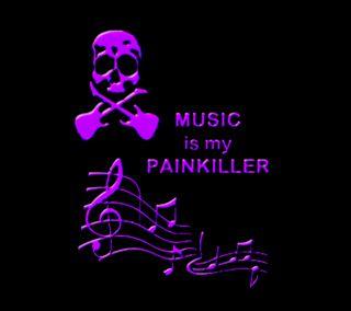 Обои на телефон киллер, череп, музыка, крест, гитара, боль, painkiller