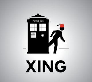 Обои на телефон доктор, тв, тардис, забавные, whovian, the doctor, tardis crossing