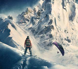Обои на телефон спортивные, снег, майкрософт, xbox, steep, snowboarding, playstation