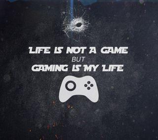 Обои на телефон игровые, текст, игра, забавные, жизнь, life is not a game