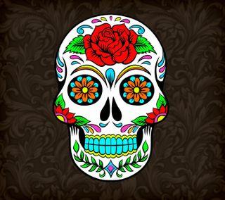 Обои на телефон череп, мексиканские, крутые