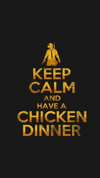 Обои на телефон pubg, keep calm, chicken dinner, pochinki, pubg2019, latest game, игра, цитата, пабг, оружие, последние, спокойствие, курица