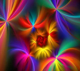 Обои на телефон спираль, фейерверк, радуга, красочные, абстрактные, spiral fireworks