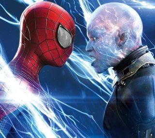 Обои на телефон электро, актер, человек паук, супергерои, рисунки, против, мультфильмы, марвел, комиксы, голливуд, spiderman vs electro, dc