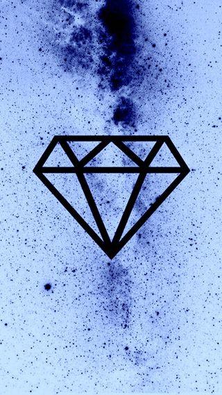 Обои на телефон бриллиант, черные, синие, бриллианты, белые, blue n white diamond
