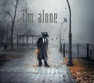 Обои на телефон одиночество, высказывания, zedgevday