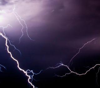 Обои на телефон гром, шторм, небо, thunder storm