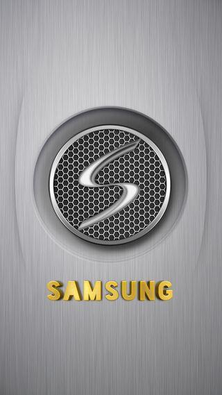 Обои на телефон самсунг, металл, золотые, грани, галактика, samsung gold metal, samsung, s8, s7, s6, s5, s4, note, galaxy, 2017